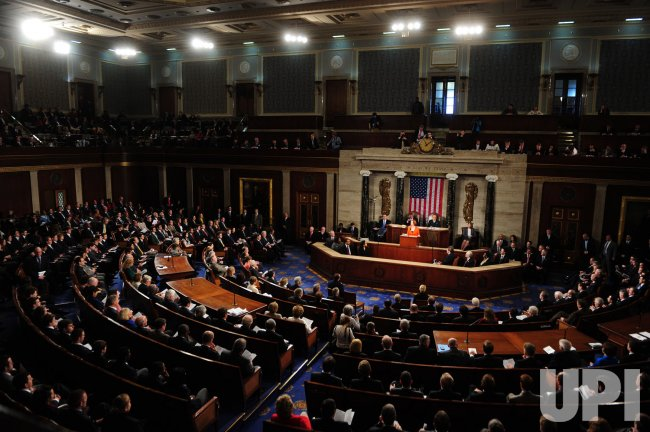 Prime Minister Julia Gillard of Australia delivers remarks to a joint session of Congress in Washington