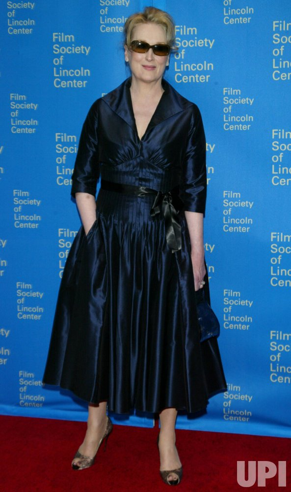 Film Society of Lincoln Center Tribute to Meryl Streep in New York