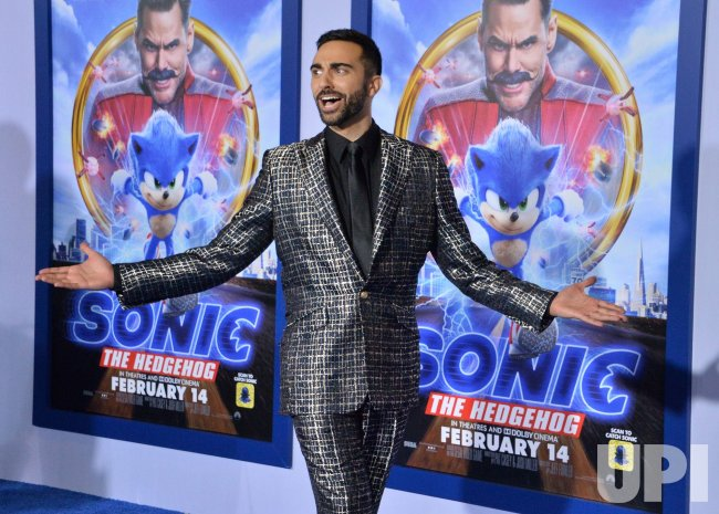 "Lee Majdoub attends a screening of ""Sonic the Hedgehog"" in Los Angeles"