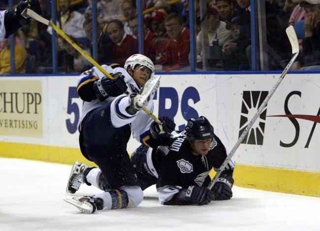 Edmonton Oilers vs St. Louis Blues hockey