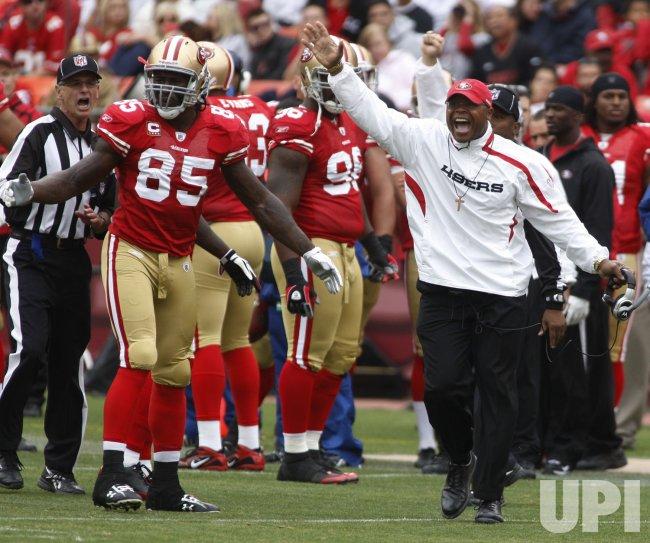 49ers Head Coach Mike Singletary loses to Atlanta Falcons in San Francisco