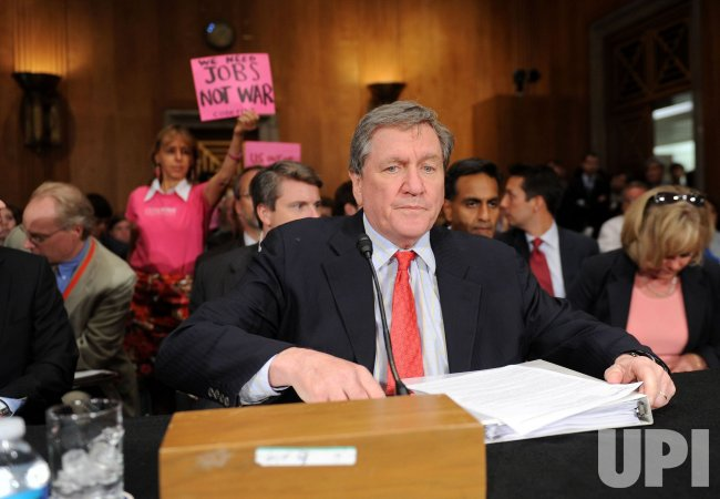 Special Representative for Afghanistan and Pakistan Richard Holbrooke testifies in Washington
