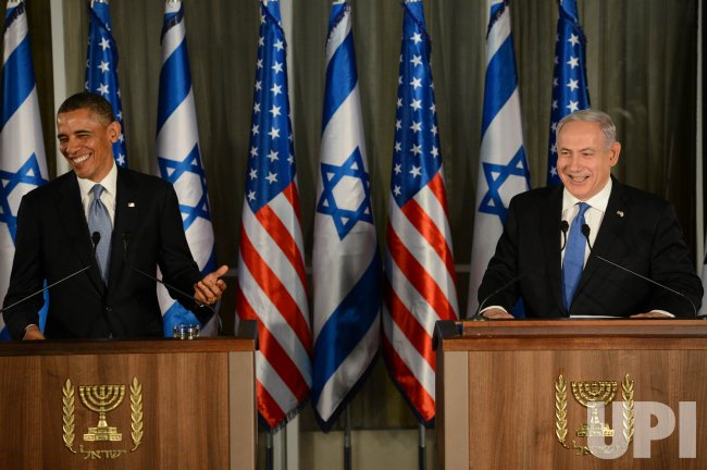Obama is Welcomed on his Visit to Israel
