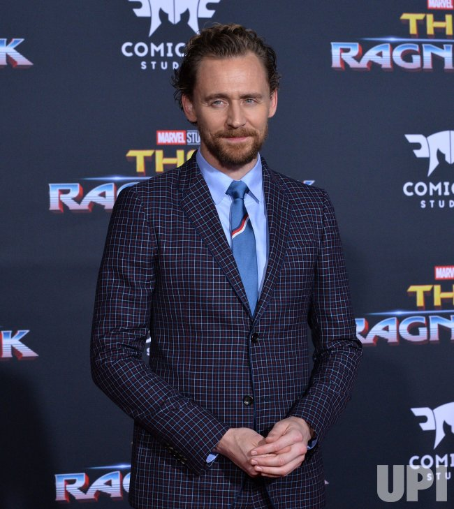 "Tom Hiddleston attends the ""Thor: Ragnarok"" premiere in Los Angeles"