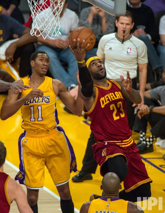Los Angeles Lakers vs. Cleveland Cavaliers in Los Angeles