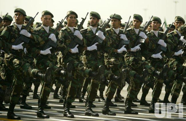 IRAN ARMY DAY.