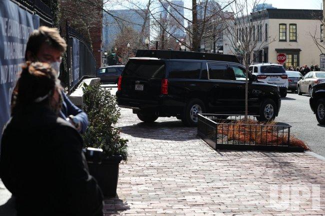 President Joe Biden Goes to Holy Trinity Church in DC