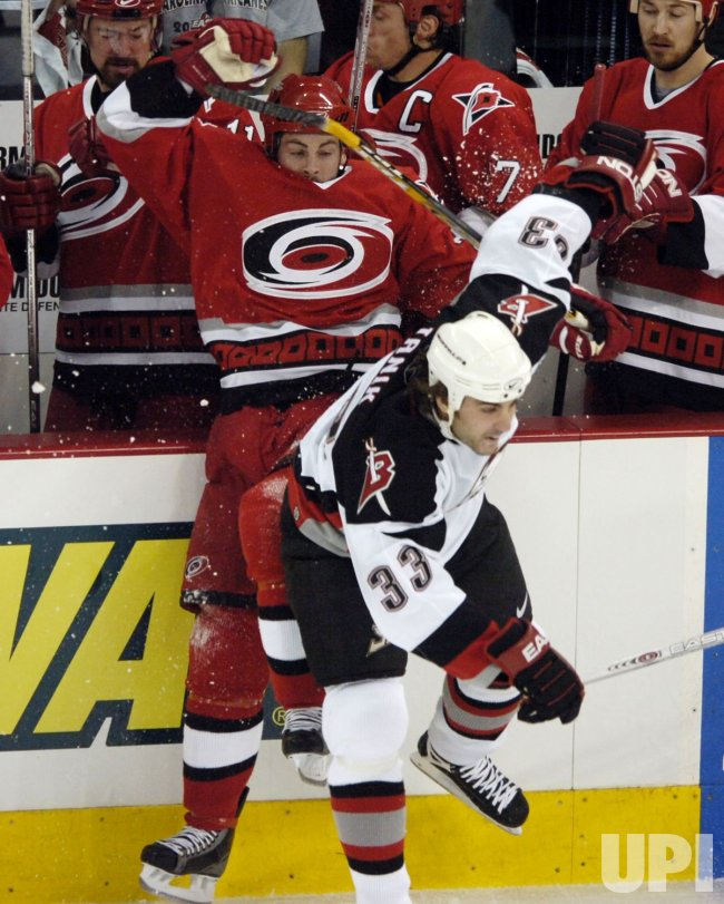 NHL BUFFALO SABRES VS CAROLINA HURRICANES