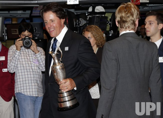 Phil Mickelson And The Mickelson Exxonmobil Teachers