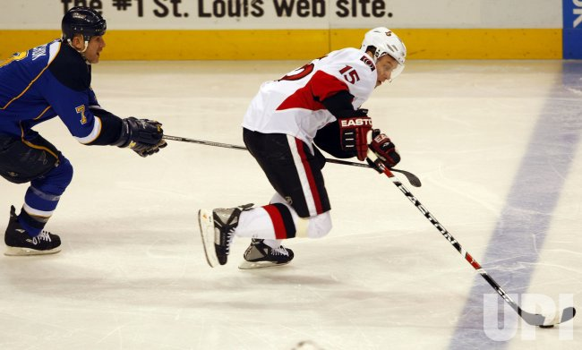Ottawa Senators vs St. Louis Blues
