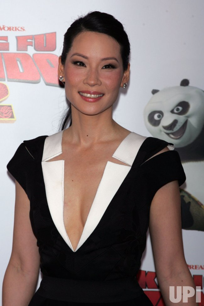 "Lucy Liu arrives for the ""Kung Fu Panda 2"" Premiere in New York"