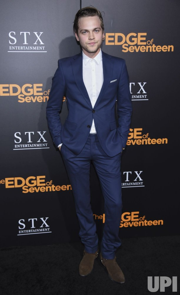 Alexander Calvert Attends The Premiere Of Quot The Edge Of