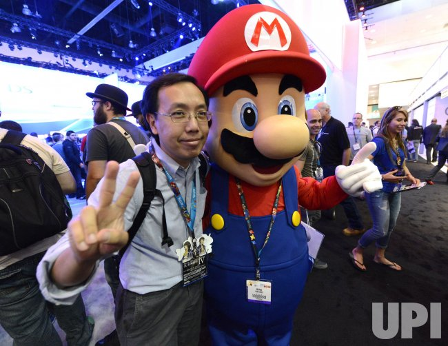 Attendees try new games and gaming gear during E3 in Los Angeles