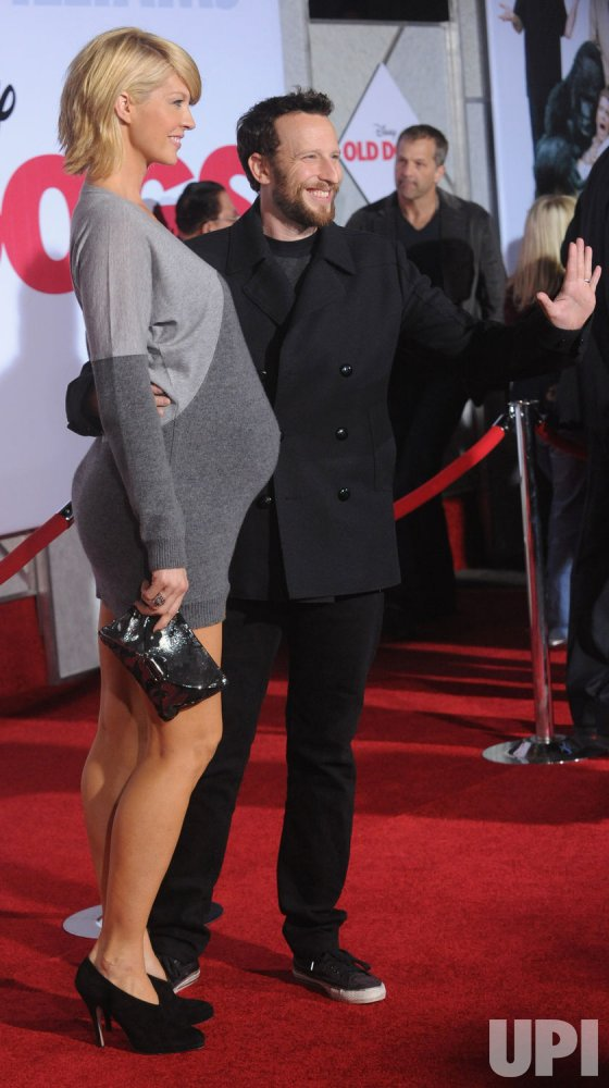 """Jenna and Bodhi Elfman attend the premiere """"Old Dogs"""" premiere in Los Angeles"""