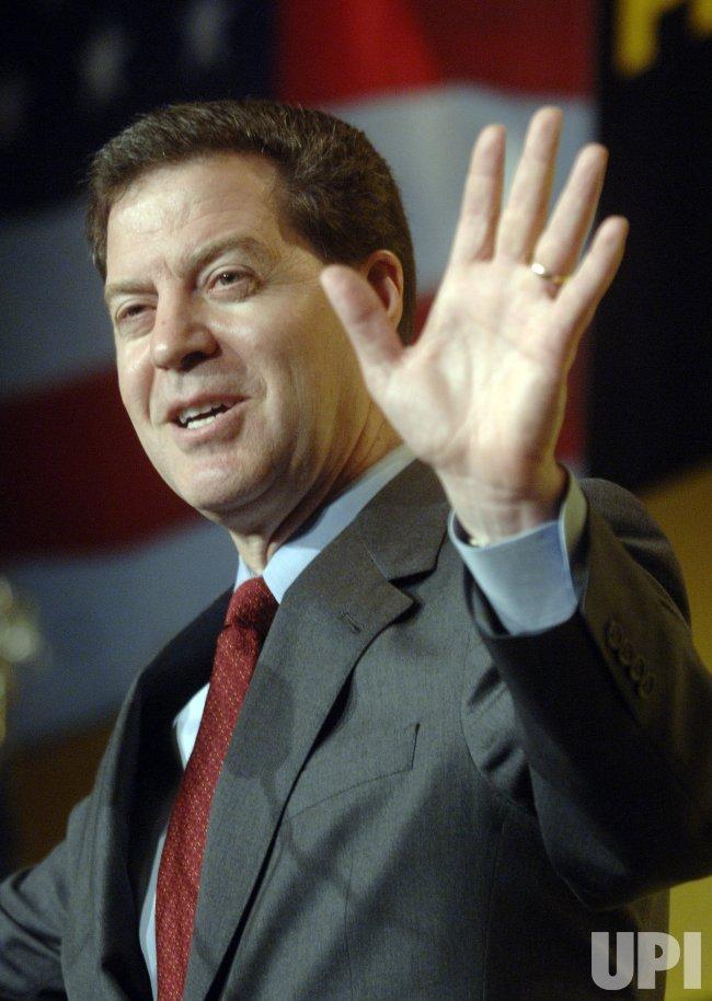 SAM BROWNBACK SPEAKS AT IAFF 2008 PRESIDENTIAL FORUM IN WASHINGTON