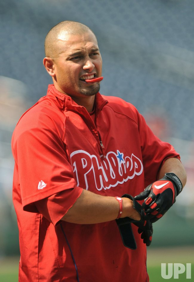 Philadelphia Phillies Shane Victorino in Washington