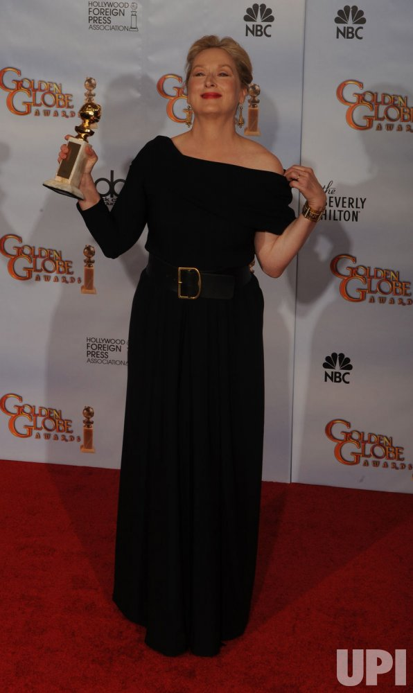 Meryl Streep wins at the 67th annual Golden Globe Awards