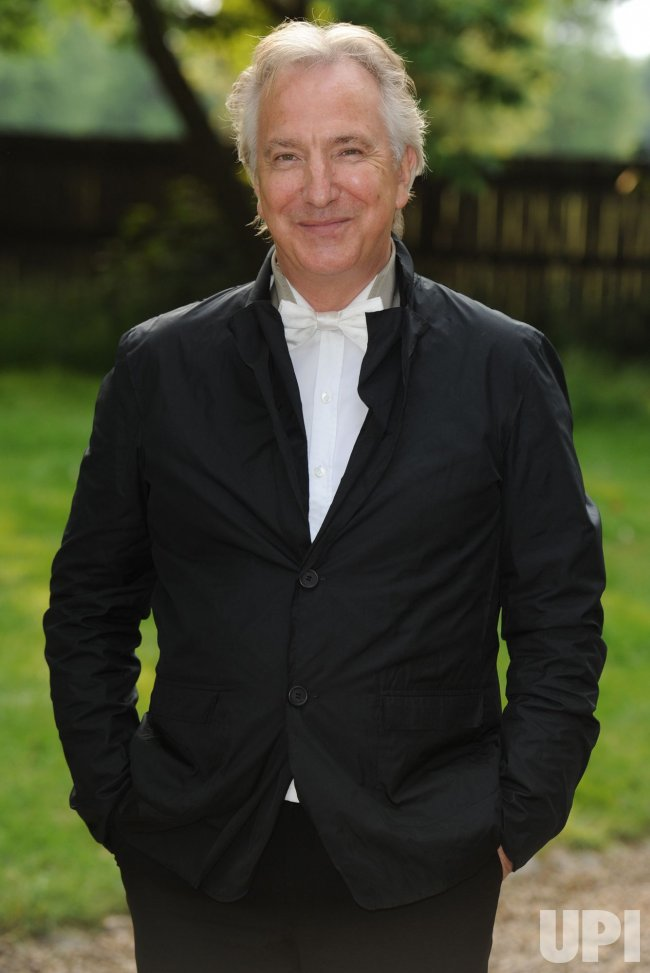 "Alan Rickman attends ""Raisa Gorbachev Foundation Party"" in London"