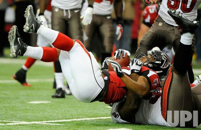 The Atlanta Falcons vs. Tampa Bay Buccaneers