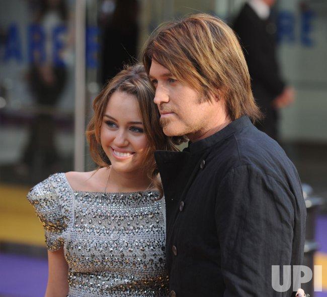 """Hannah Montana"" premiere in London"