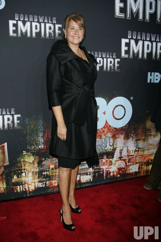 "Lorraine Bracco arrives for the premiere of ""Boardwalk Empire"" in New York"