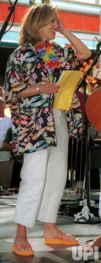 Jimmy Buffett Performs on The Today Show