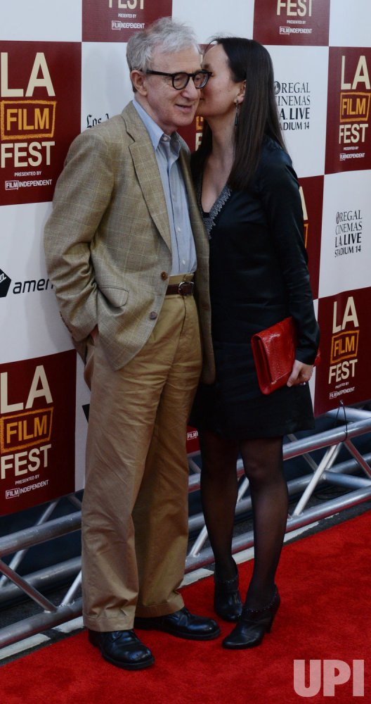 "Woody Allen and Soon-Yi Previn attend the ""To Rome With Love"" premiere in Los Angeles"