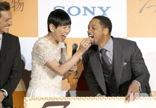 """Seven Pounds"" Japanese premiere"
