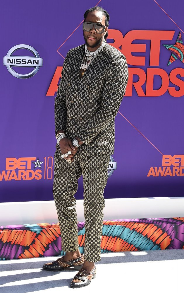 2 Chainz attends the 18th annual BET Awards in Los Angeles