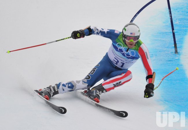 USA's Bode Miller competes in the Men's Giant Slalom