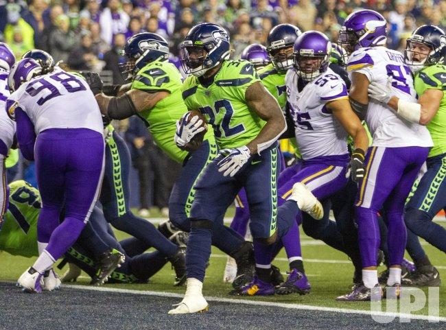 Minnesota Vikings vs. Seahawks in Seattle