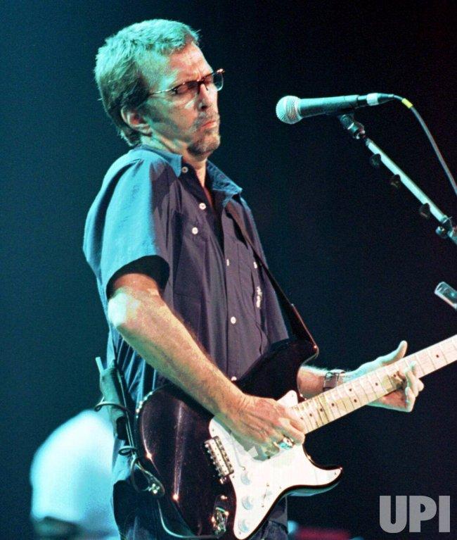 Guitarist Eric Clapton