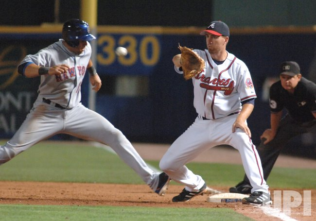 ATLANTA BRAVES VS NEW YORK METS