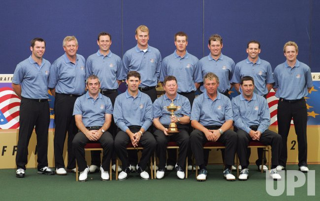 THE EUROPEAN RYDER CUP TEAM PHOTO