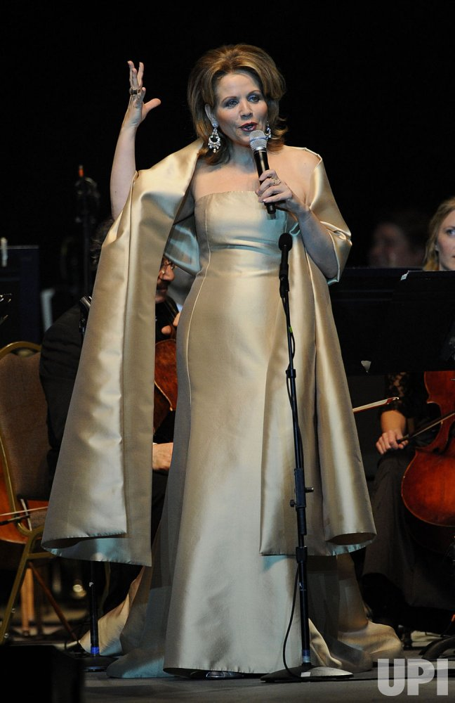 Renee Fleming performs in Boca Raton, Florida