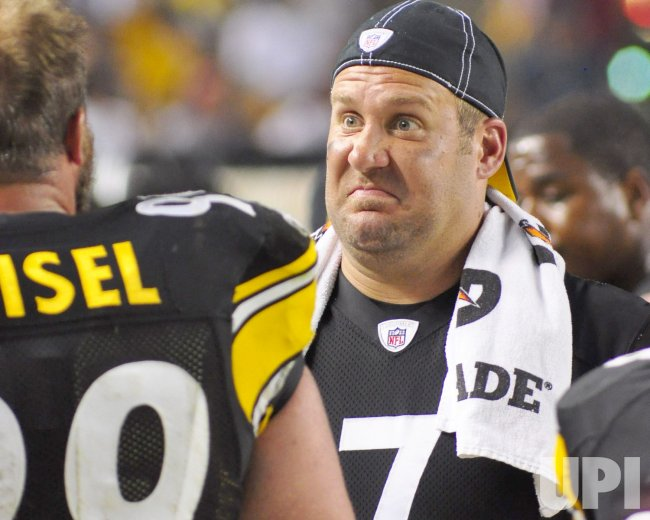 Steelers QB Ben Roethlisberger in Pittsburgh