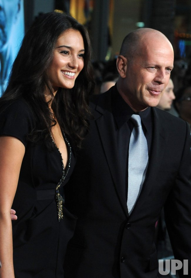 "Bruce Willis attends the ""Surrogates"" premiere in Los Angeles"