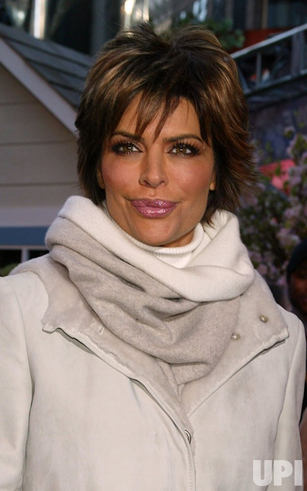 Lisa Rinna Valentine's Day event in New York