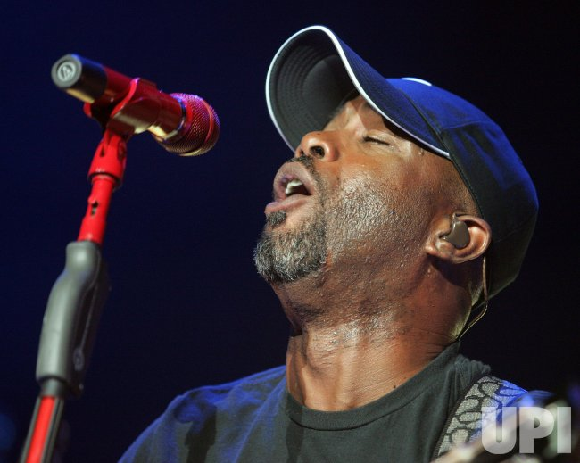 Darius Rucker performs in concert in Daytona Beach, Florida