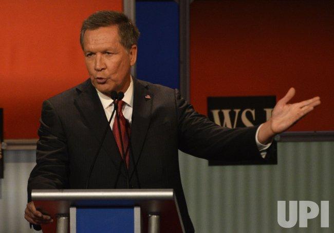 Republican Presidential Hopeful John Kasich at 4th Debate