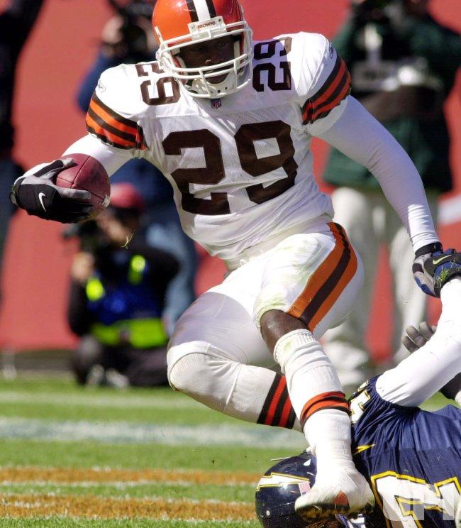 Cleveland Browns James Jackson runs for touchdown