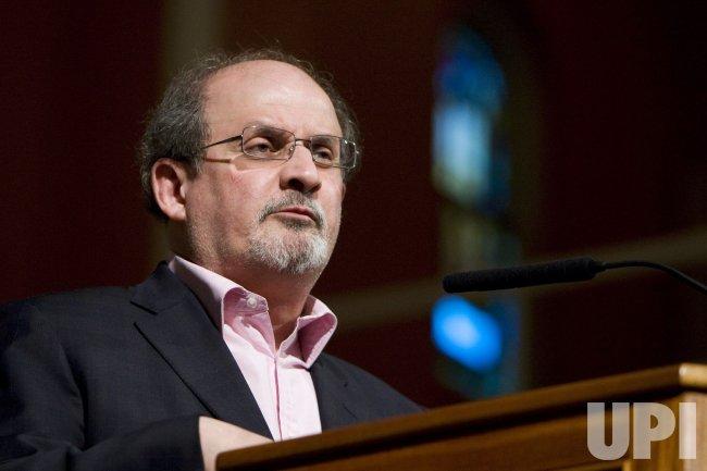 Salman Rushdie reads in Washington