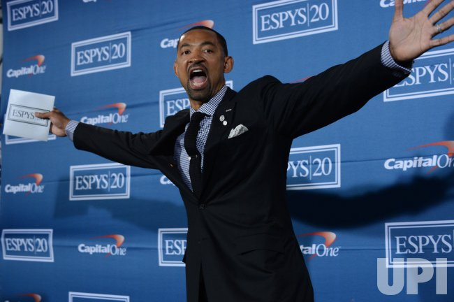 Juwan Howard appears backstage at the 2012 ESPY Awards in Los Angeles