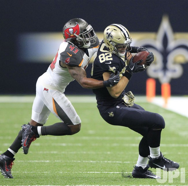 New Orleans Saints tight end Coby Fleener