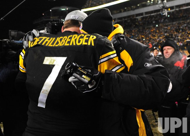 Steelers' quarterback Ben Roethlisberger in Pittsburgh