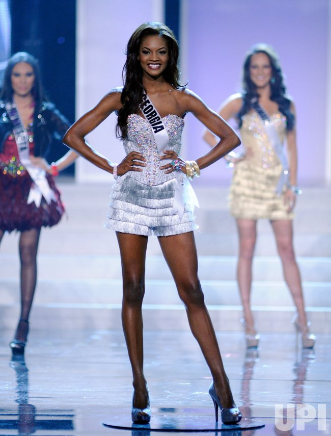 Miss Georgia Jasmyn Wilkins Participates In The 2012 Miss