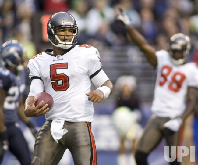 Rookie Quarterback Josh Freeman guides Tampa Bay Bucaneers over Seattle Seahawks.