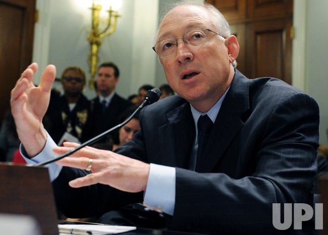 Interior Sec. Salazar testifies on oil, gas drilling in Washington