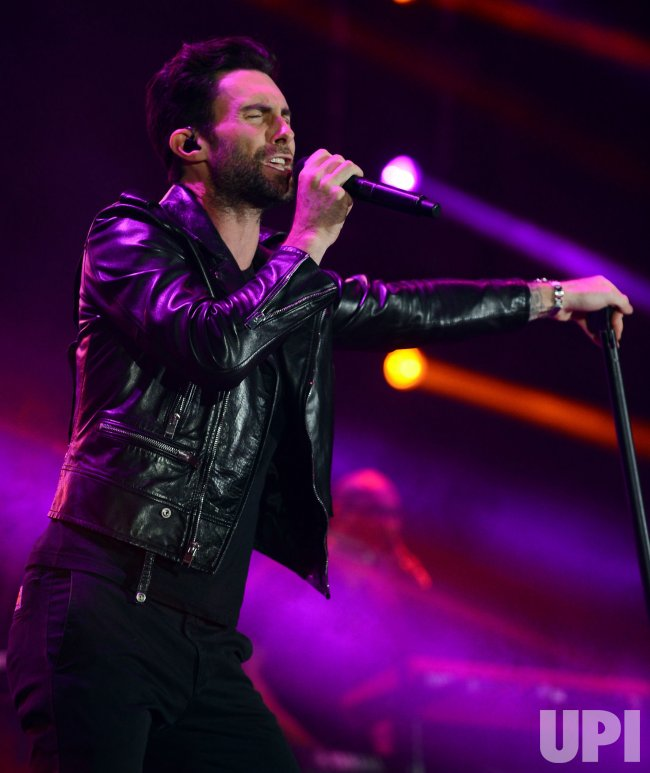 Adam Levine of Maroon 5 performs at KIIS FM's Wango Tango 2013 in Carson, California