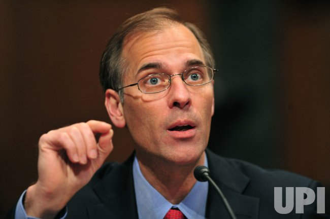 Mark Zandi, testifies on the U.S. economic recovery in Washington